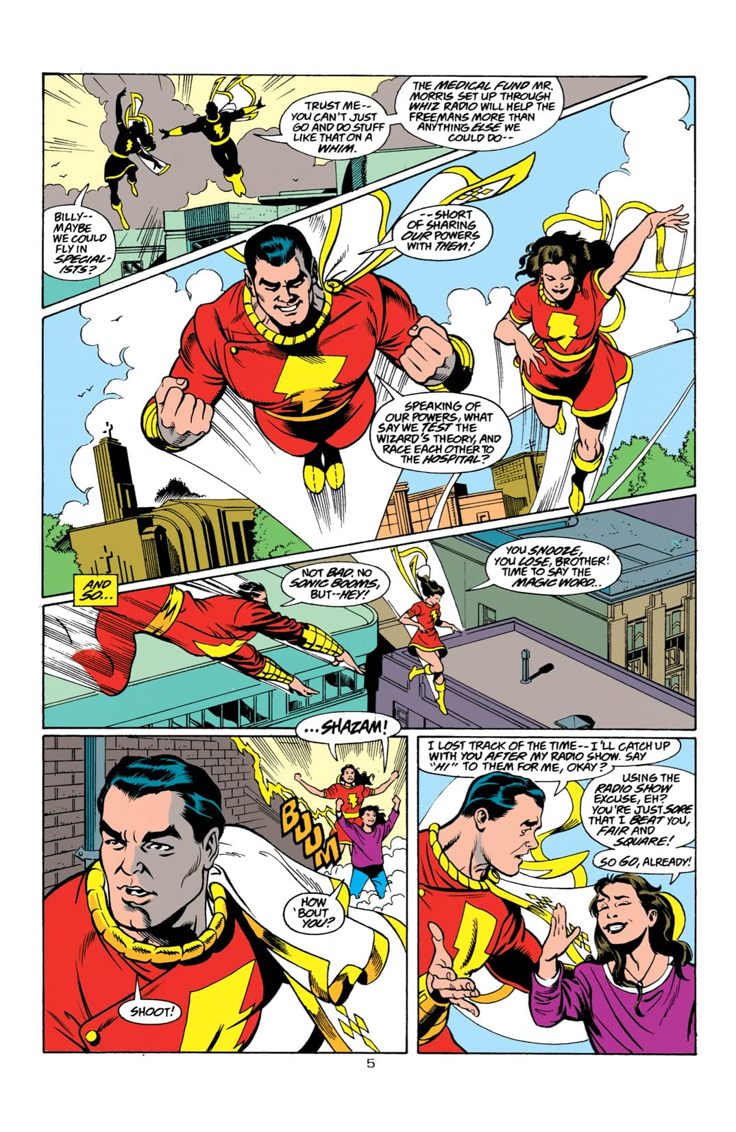 The Power of Shazam (1995-1999) #7