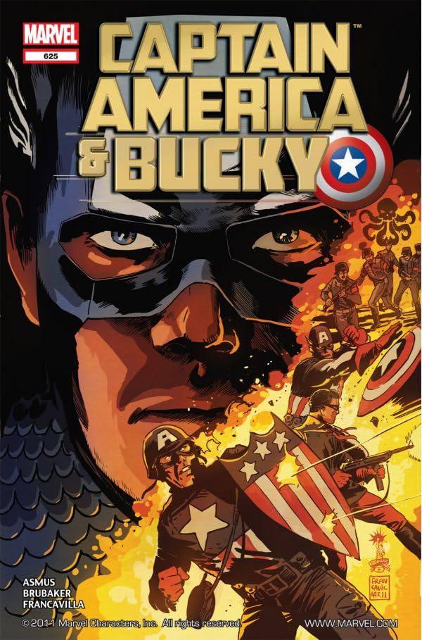 Captain America and Bucky #625
