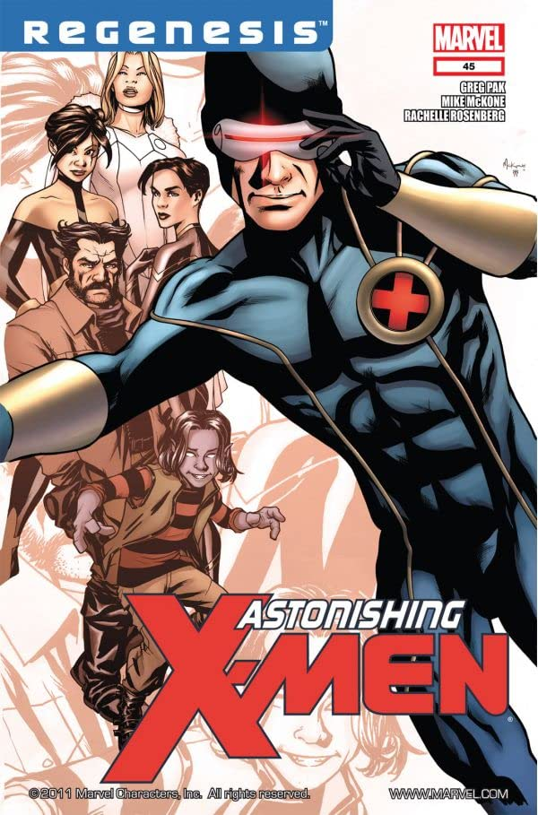Astonishing X-Men (2004-2013) #45