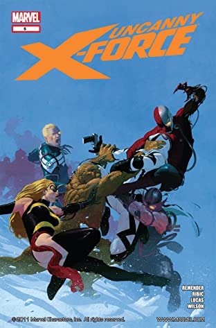 Uncanny X-Force (2010-2012) No.5