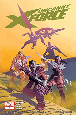 Uncanny X-Force (2010-2012) No.6