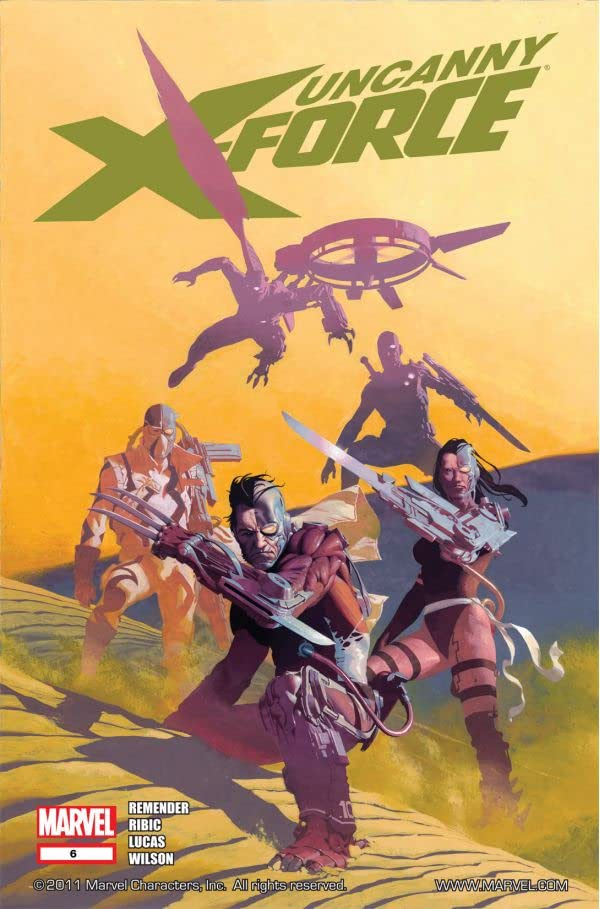 Uncanny X-Force (2010-2012) #6