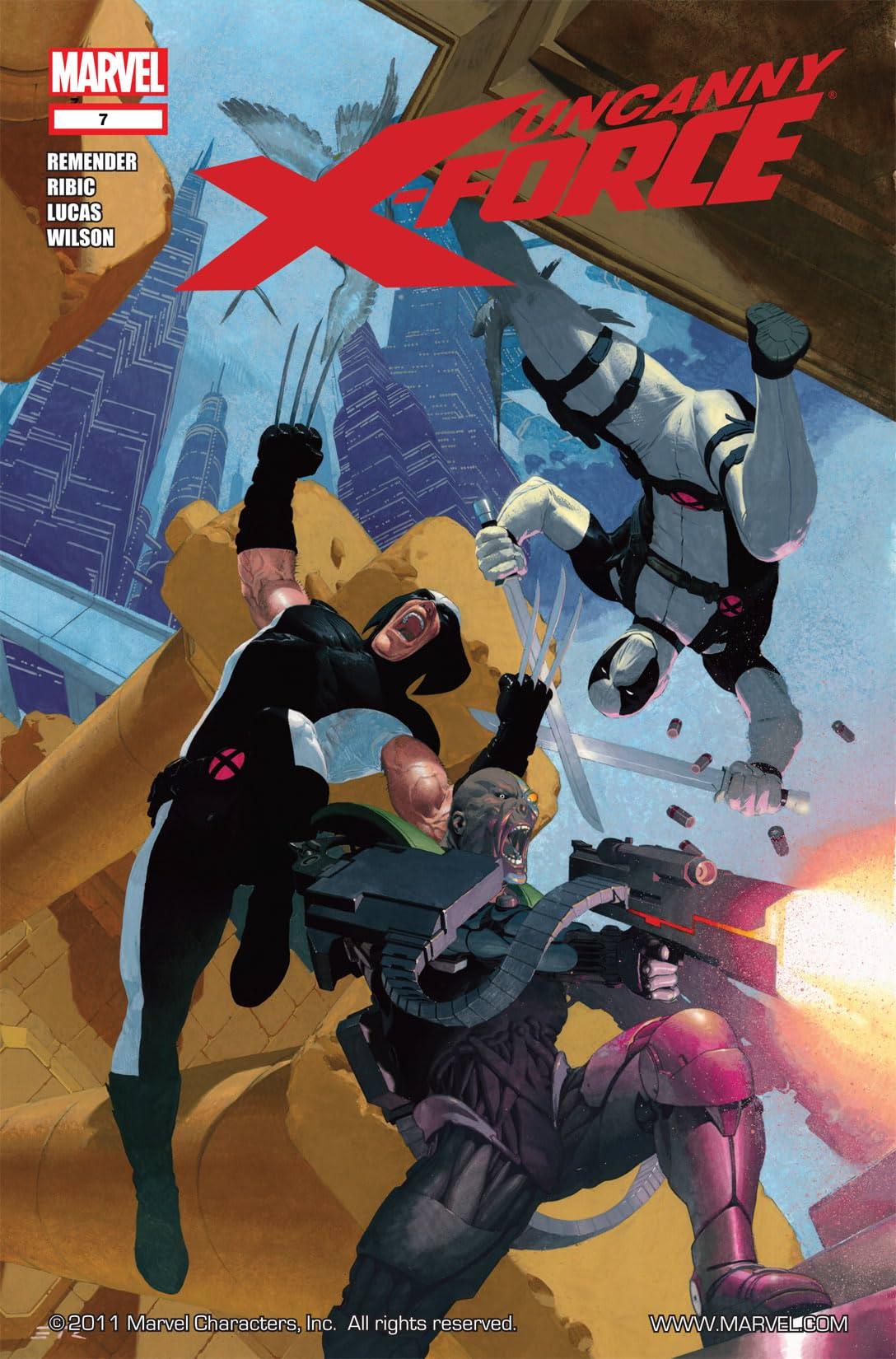 Uncanny X-Force (2010-2012) #7