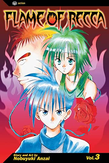 Flame of Recca Vol. 3