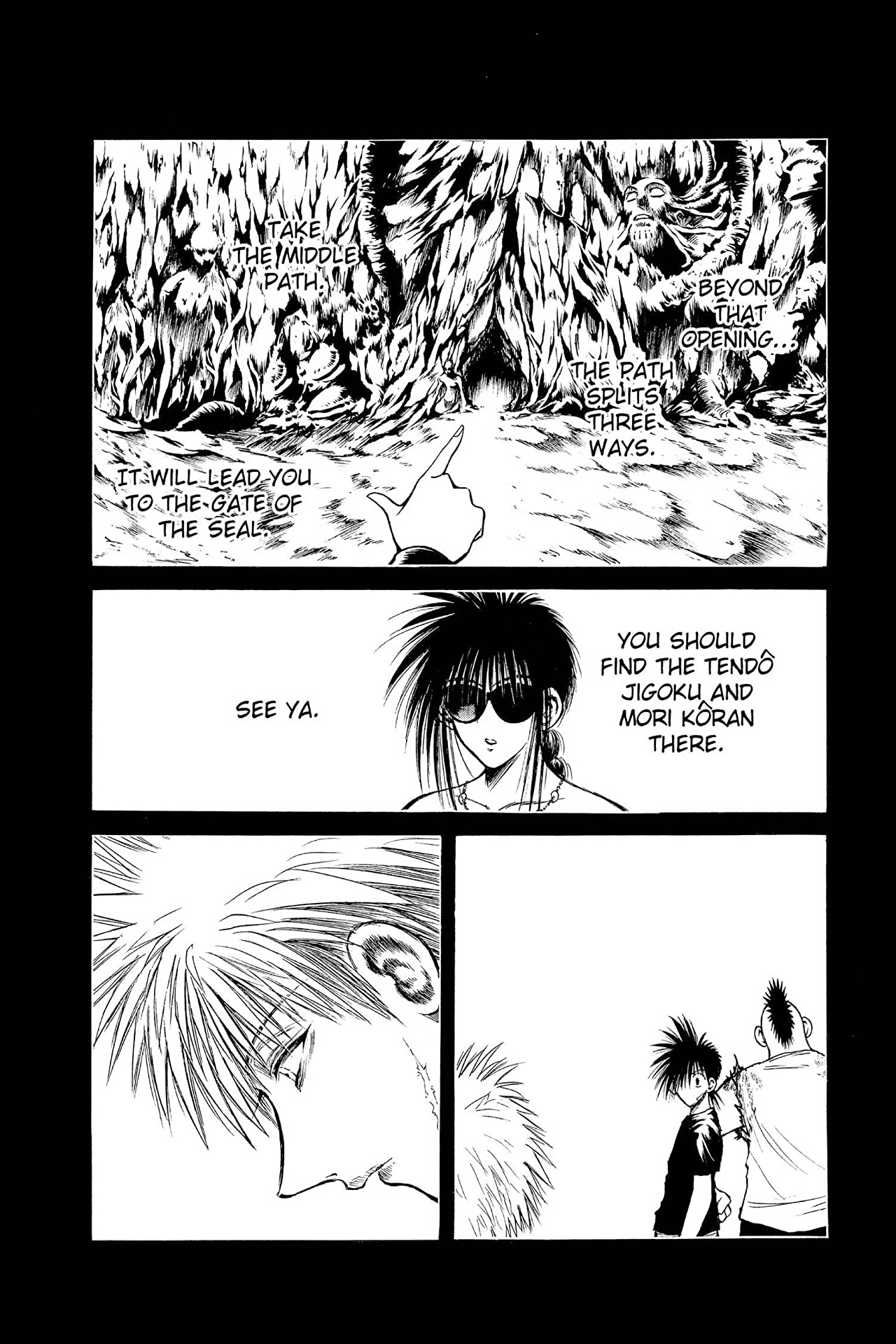 Flame of Recca Vol. 21
