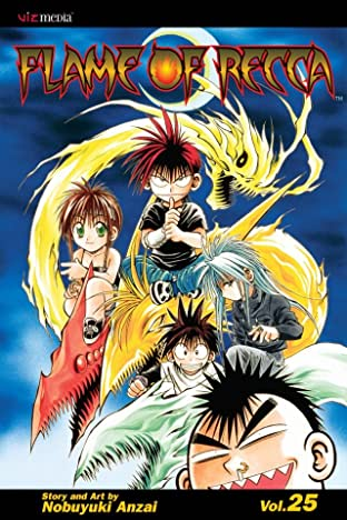 Flame of Recca Vol. 25