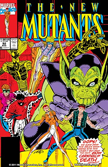 X-Force: Cable & the New Mutants (New Mutants (1983-1991))