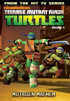Teenage Mutant Ninja Turtles: Animated Vol. 4: Mutagen Mayhem