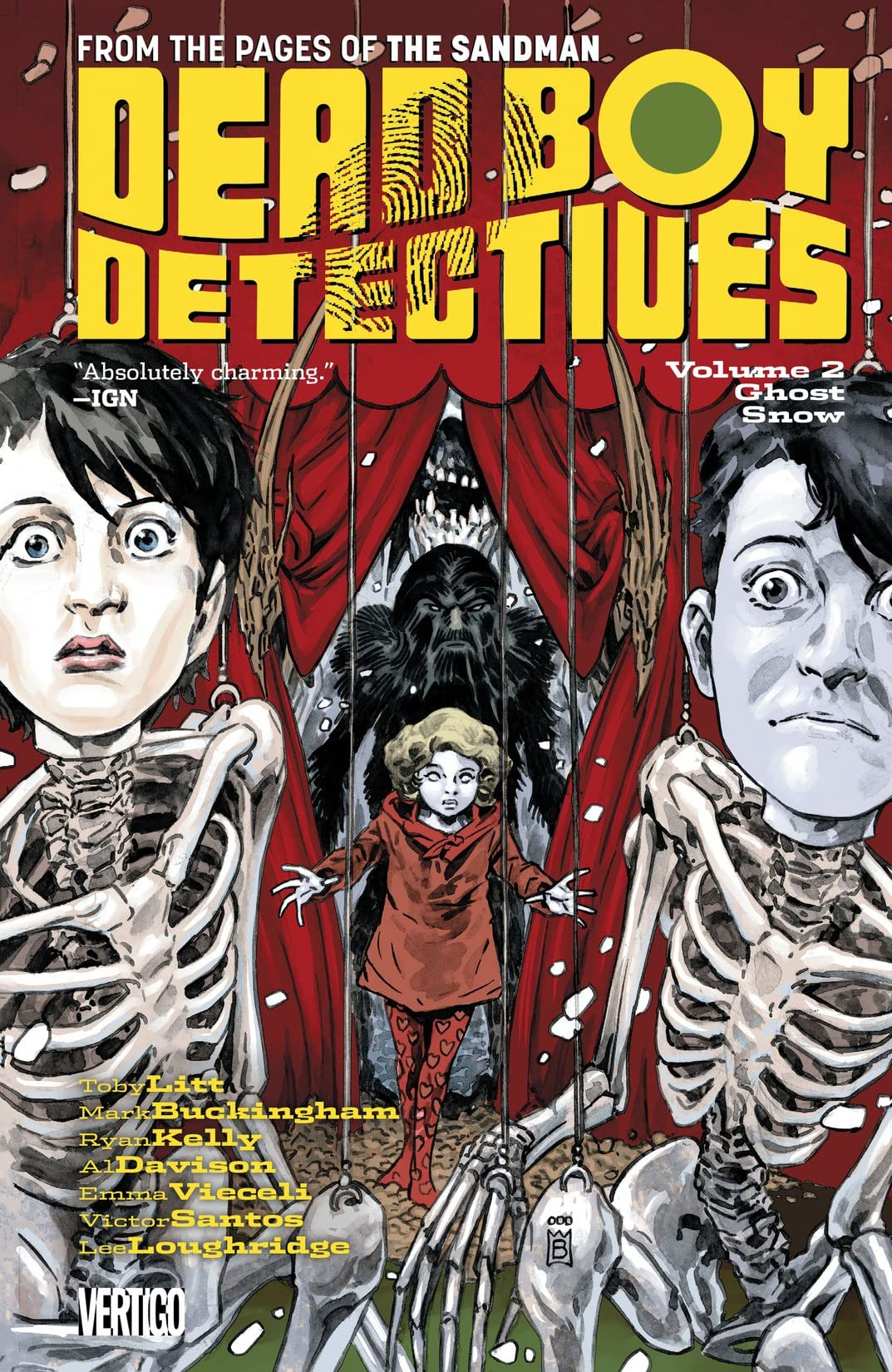 The Dead Boy Detectives (2013-2014) Vol. 2: Ghost Snow