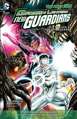 Green Lantern: New Guardians (2011-2015) Vol. 5: Godkillers