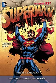 Superman (2011-2016) Vol. 5: Under Fire