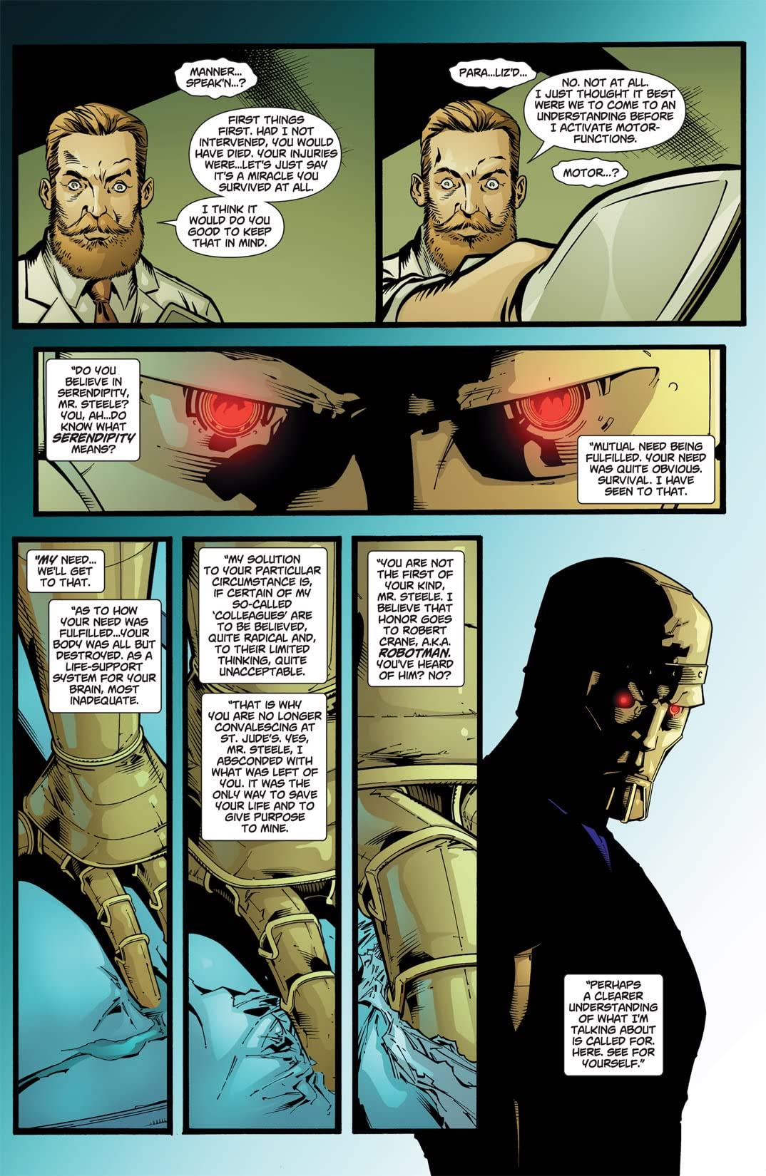 Doom Patrol (2009-2011) #21