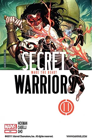 Secret Warriors (2008-2011) No.11