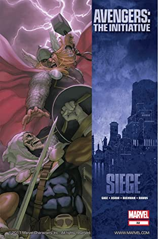 Avengers: The Initiative #32