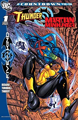 Outsiders: Five of a Kind #3 (of 5): Martian Manhunter/Thunder