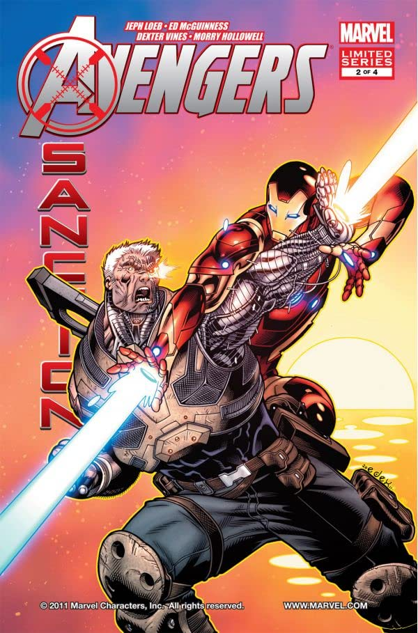 Avengers: X-Sanction #2 (of 4)