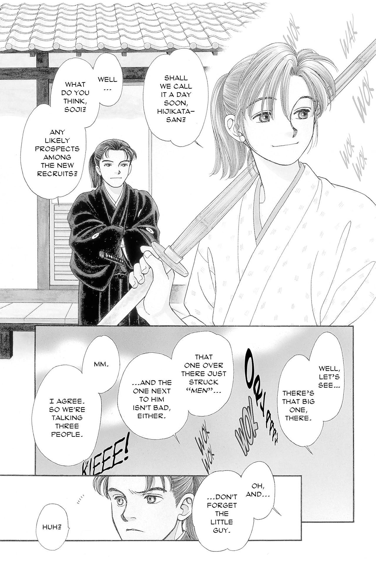 Kaze Hikaru Vol. 1
