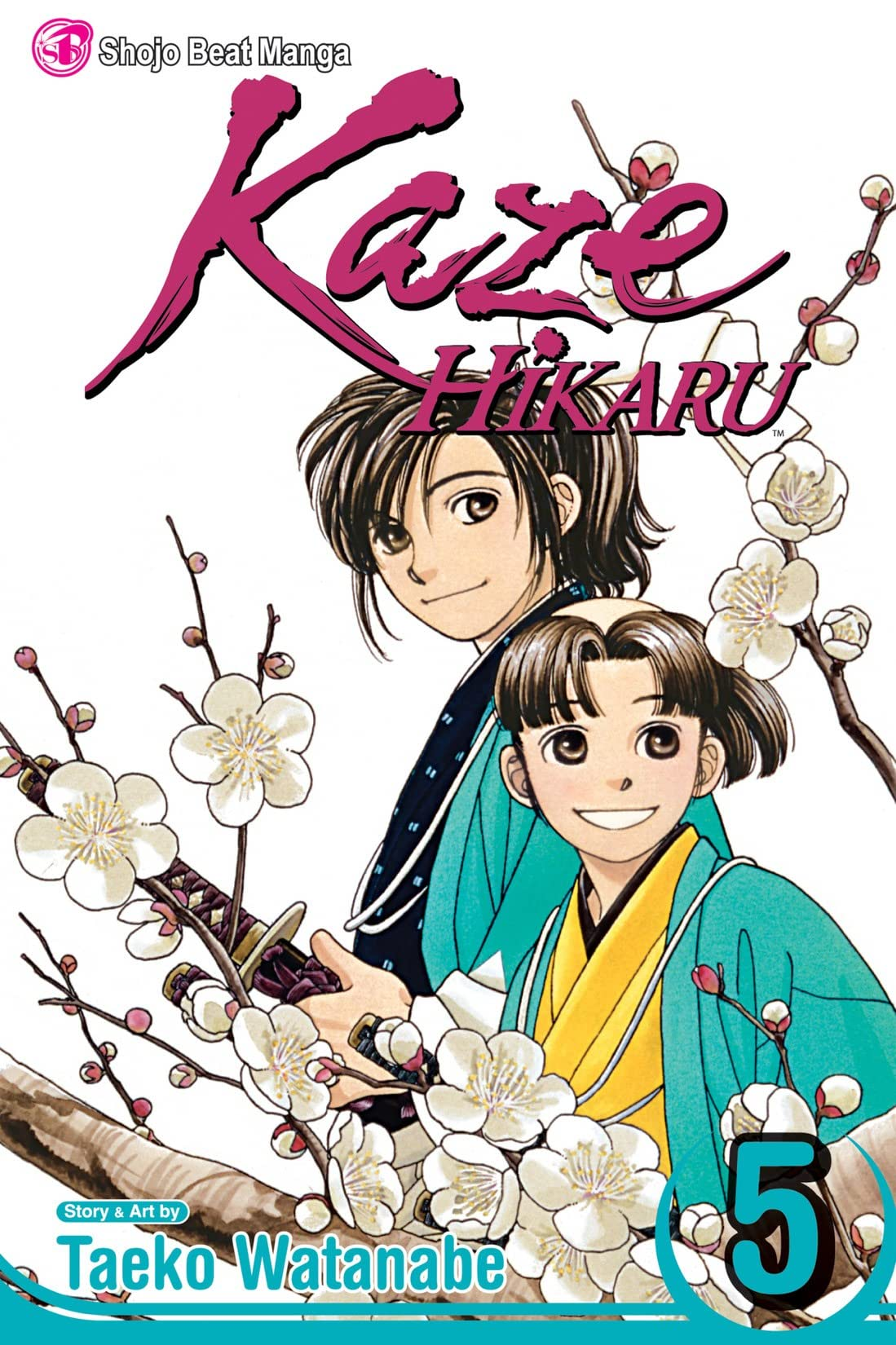 Kaze Hikaru Vol. 5
