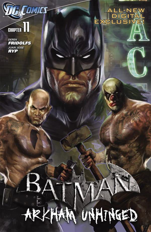 Batman: Arkham Unhinged #11