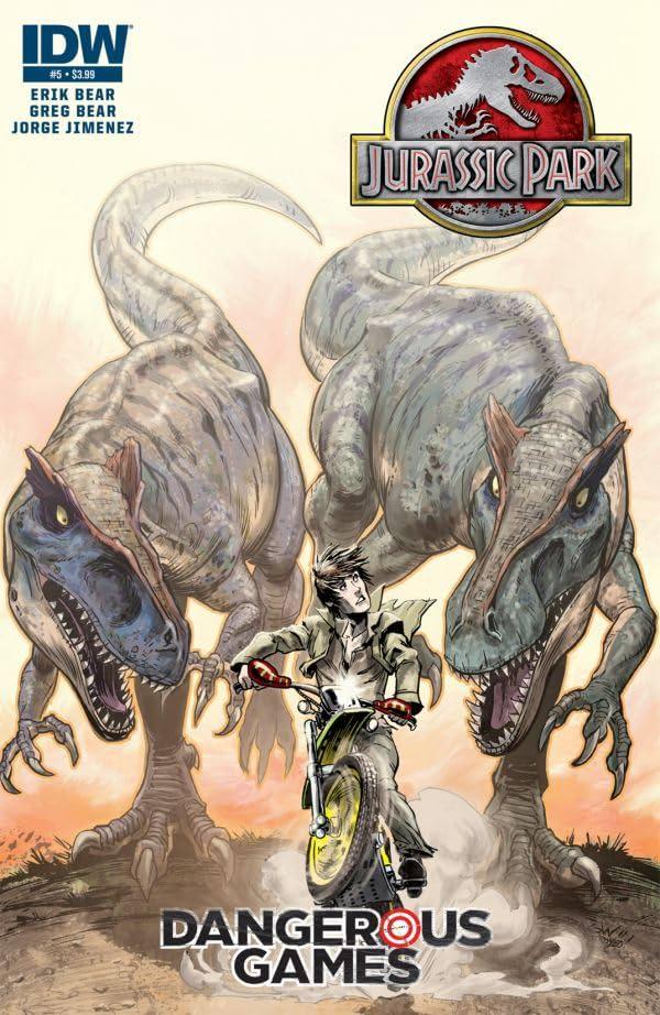 Jurassic Park: Dangerous Games #5 (of 5)