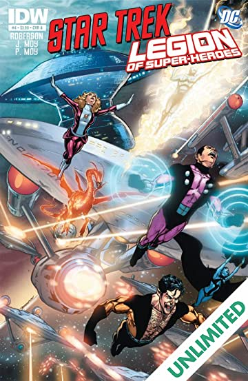 Star Trek/Legion of Super-Heroes #4 (of 6)
