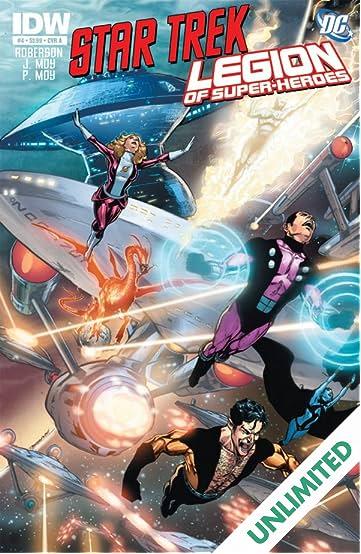 Star Trek/Legion of Super-Heroes #4 (of 6)