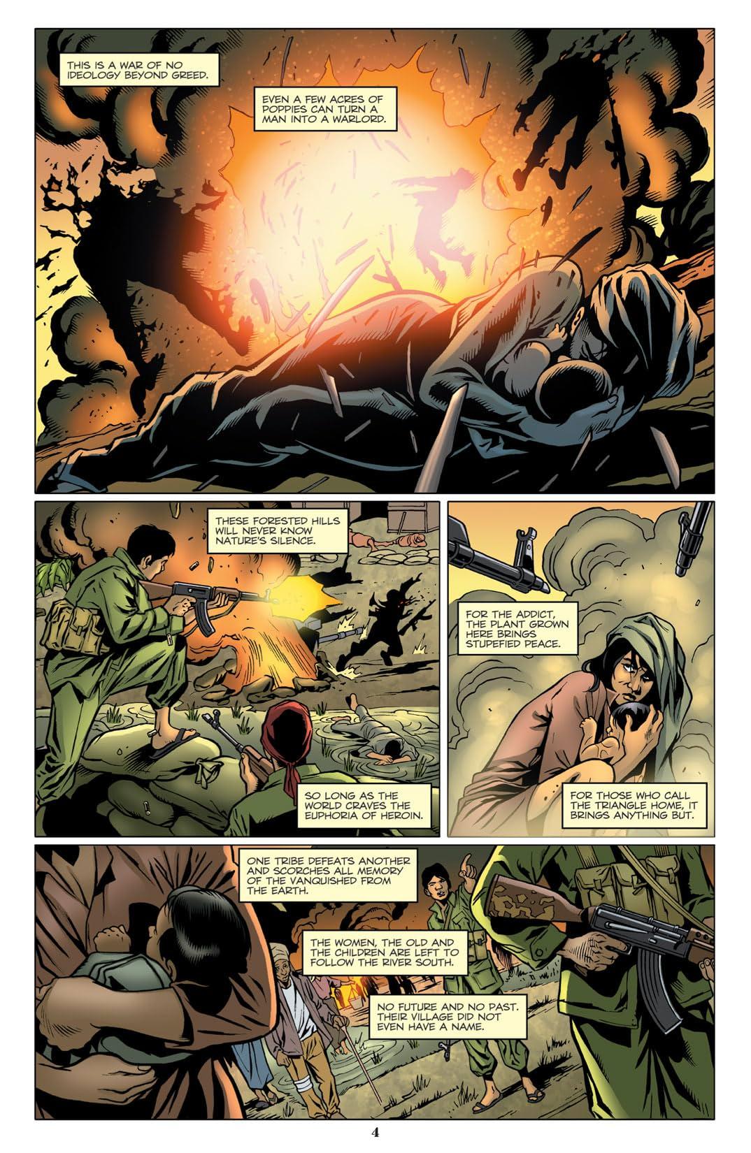 Cobra Annual 2012: Origin of Cobra Commander