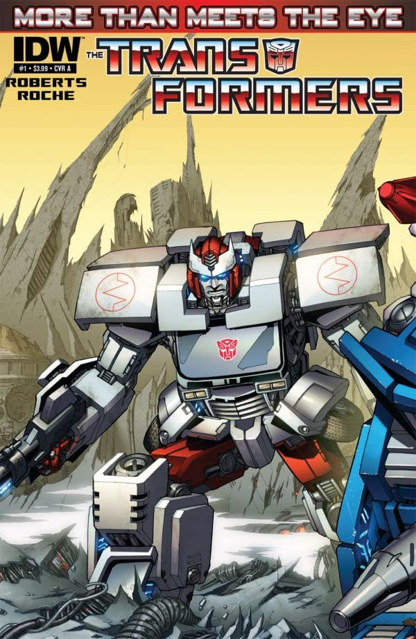 Transformers: More Than Meets the Eye (2011-) #1