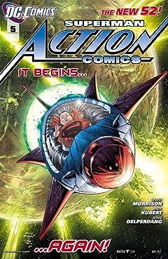Action Comics (2011-2016) No.5