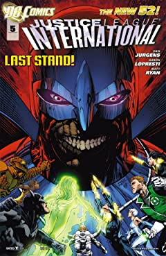 Justice League International (2011-2012) #5