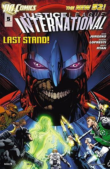 Justice League International (2011-2012) #5