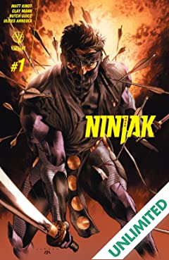 Ninjak (2015- ) #1: Digital Exclusives Edition