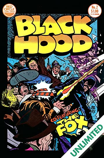 The Black Hood (Red Circle Comics) #2
