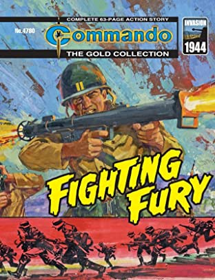 Commando #4780: Fighting Fury