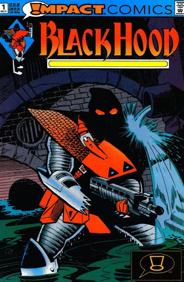 The Black Hood (Impact Comics) #1