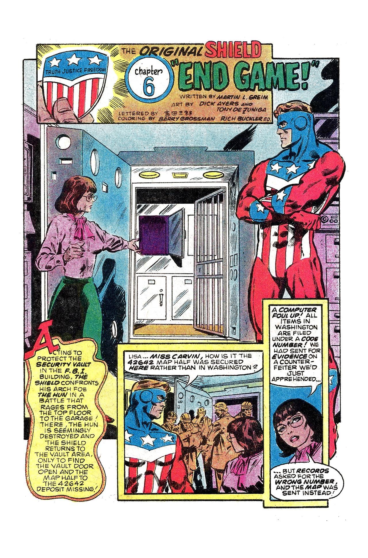 The Original Shield (Red Circle Comics) #1