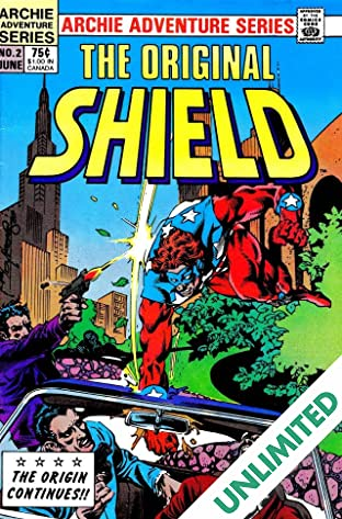 The Original Shield (Red Circle Comics) #2