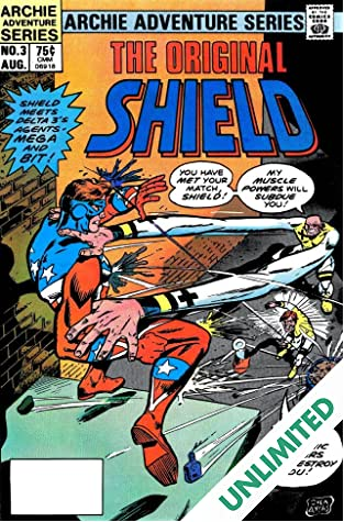 The Original Shield (Red Circle Comics) #3