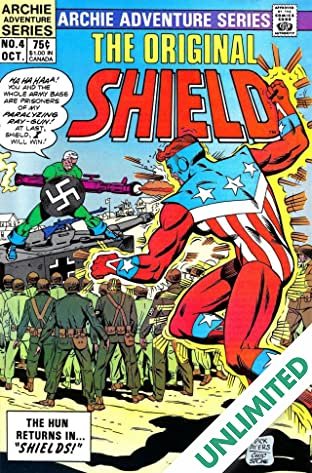 The Original Shield (Red Circle Comics) #4