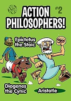 Action Philosophers #2: Aristotle, Epictetus the Stoic & Diogenes!