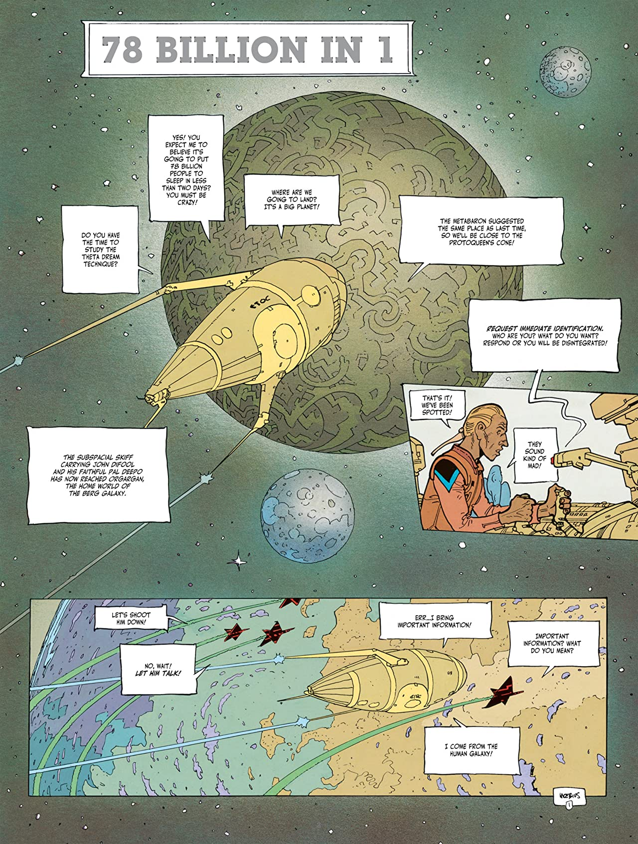 The Incal Vol. 6: The Fifth Essence - Planet DiFool