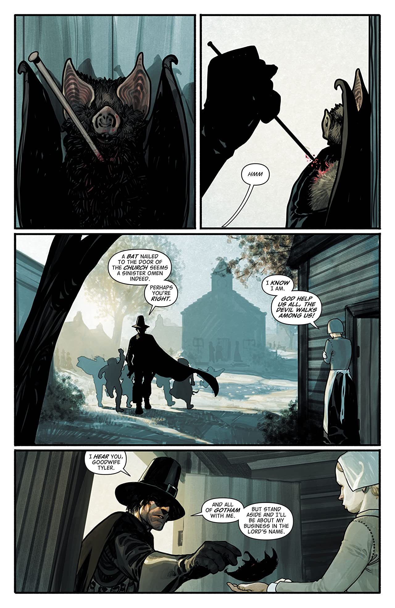 Batman: The Return of Bruce Wayne #2 (of 6)