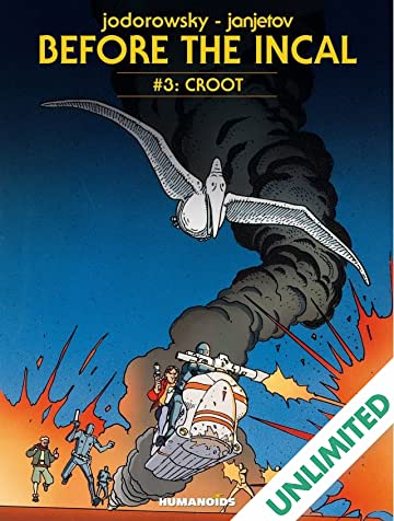 Before the Incal Vol. 3: Croot