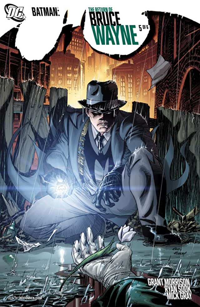 Batman: The Return of Bruce Wayne #5