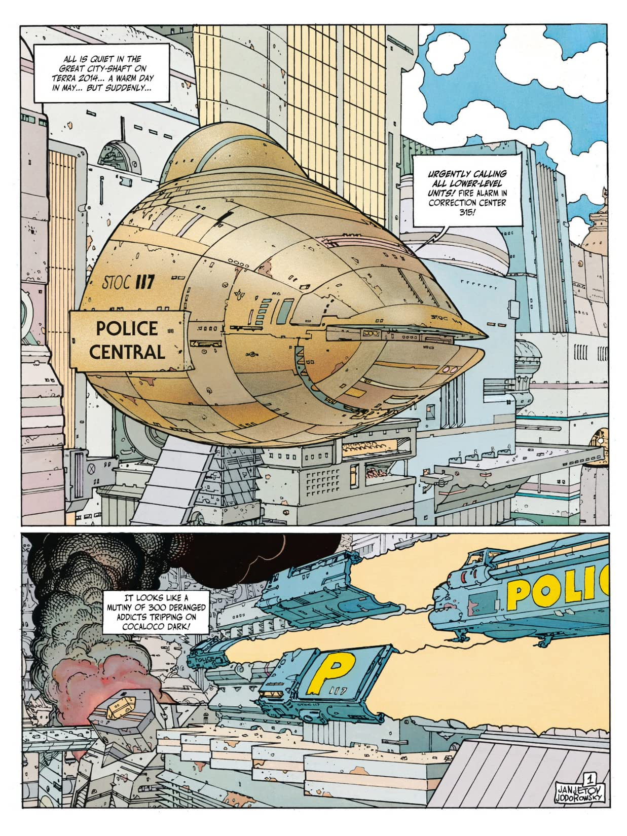 Before the Incal Vol. 4: Psycho Anarchist