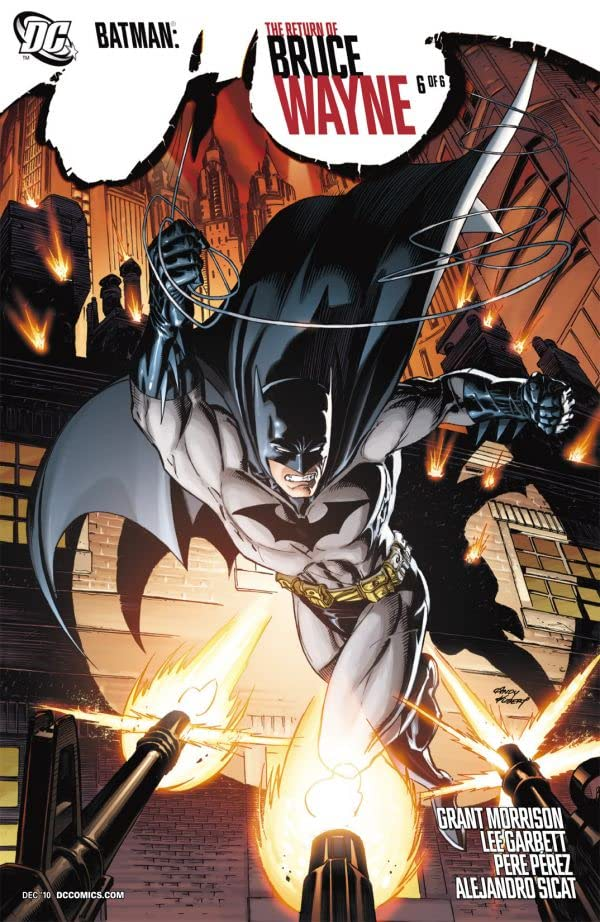 Batman: The Return of Bruce Wayne #6 (of 6)