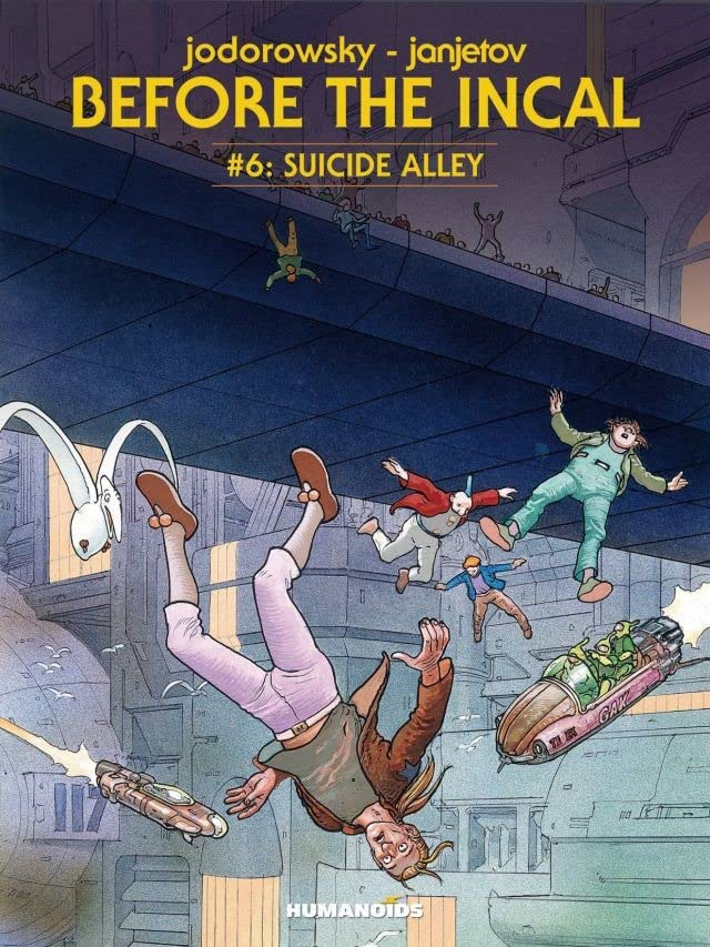 Before the Incal Tome 6: Suicide Alley