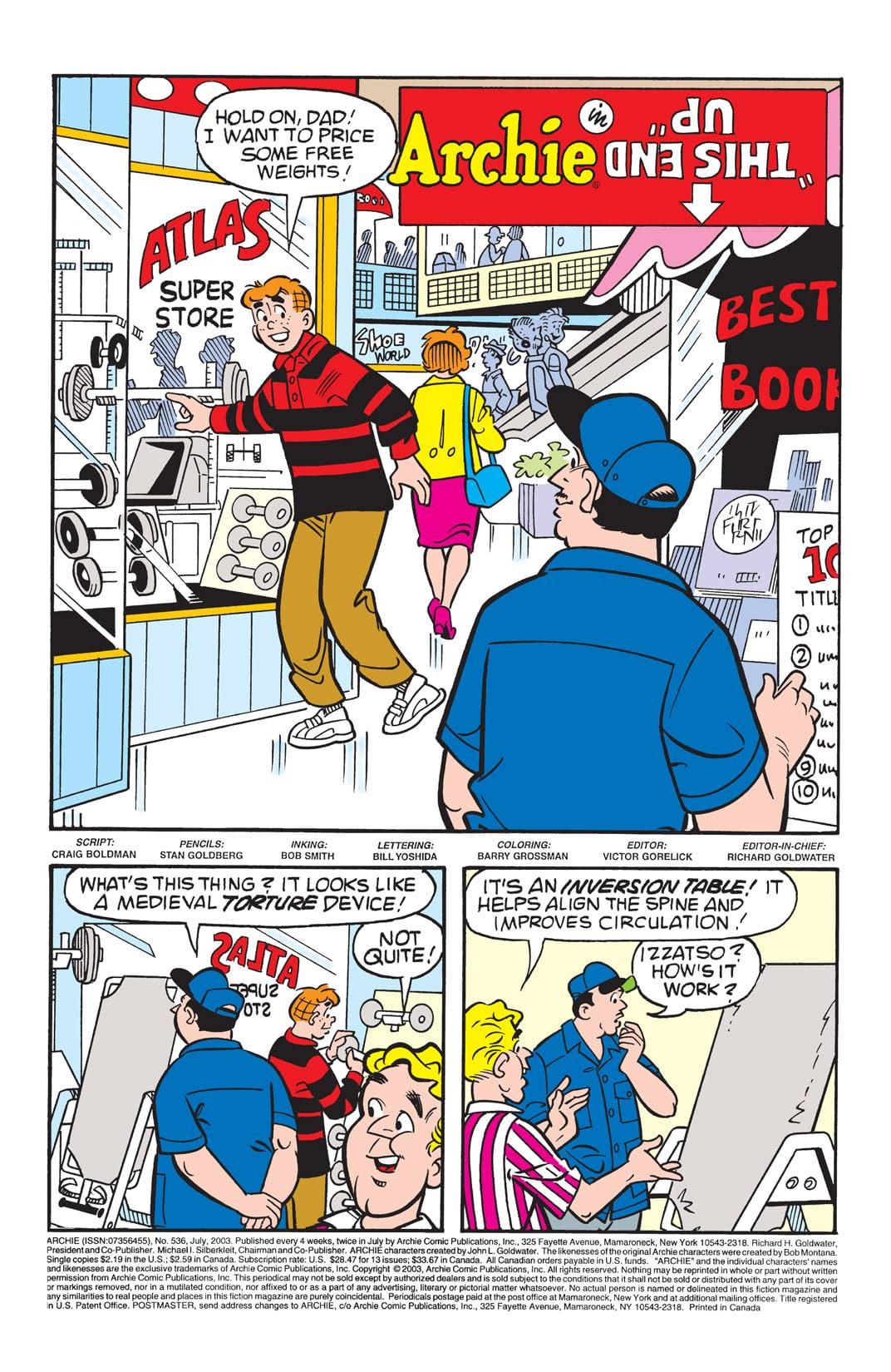 Archie #536