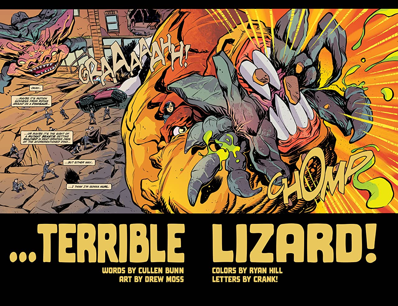 Terrible Lizard #4 (of 5)