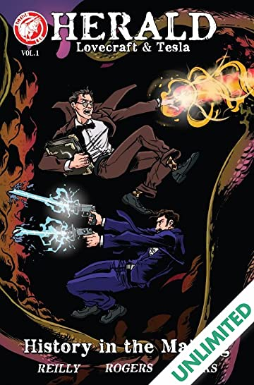 Herald: Lovecraft & Tesla Vol. 1: History in the Making